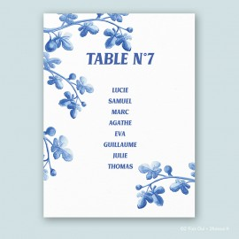 Plan de table figues