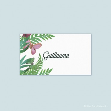 Marque-place papillons (lot de 10 cartes)