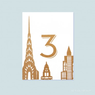 Chrysler building (lot de 10 cartes)
