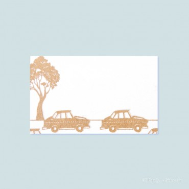 marque-place taxi (lot de 10 cartes)